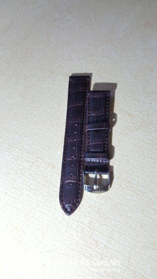 Thanh lí dây đồng hồ da bò thật 100k