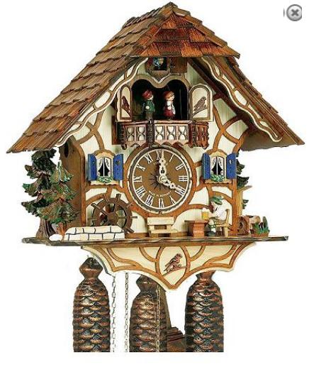 Nhận order đồng hồ cuckoo từ Đức